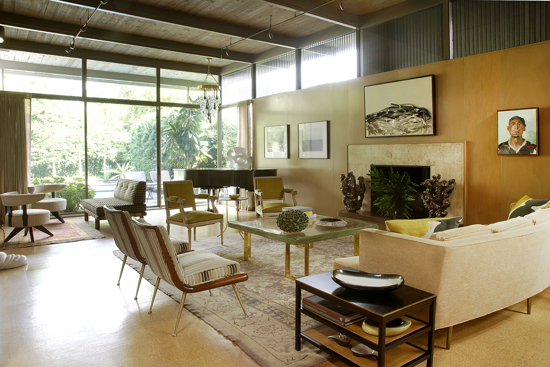Riverbend residence lee ledbetter associates for Midcentury modern la